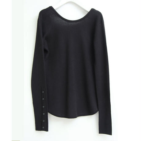 "【""little $uzie"" Original #4】2way Milanlib Knit(ls083K)Black"