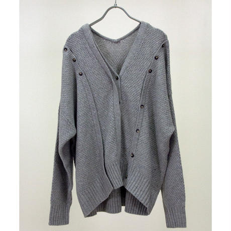 Button Layered Cardigan (ls071)