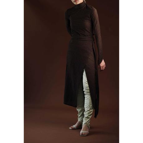Wool Cut Skirt Pants(ls131S)