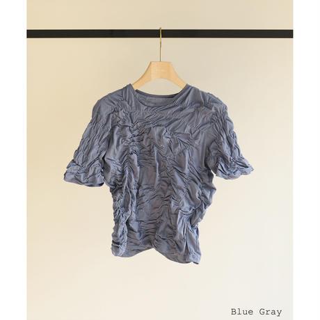 Inequality Shirring Tops(ls12227T)
