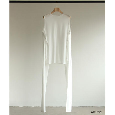 "【""little $uzie"" Original #6】Back Open Cross Tops(ls172T)"