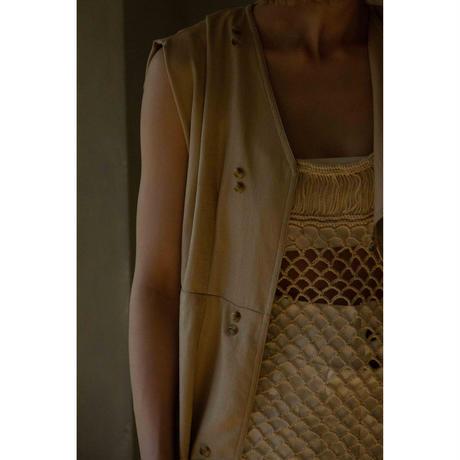 Long Gilet Dress(ls088D)