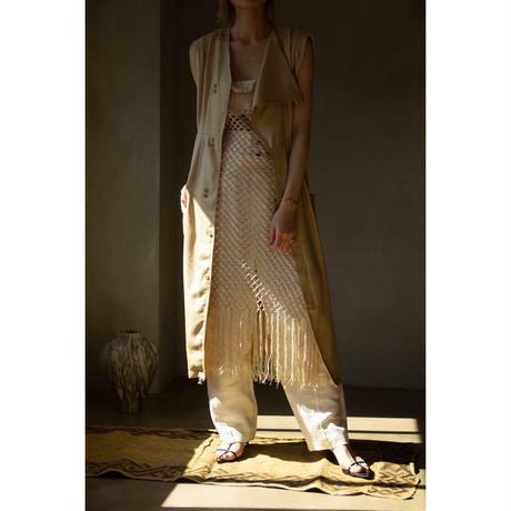 Handmade Macrame Knit Dress(ls087)