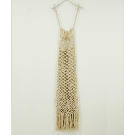 "【""little $uzie"" Original #4】Handmade Macrame Knit Dress(ls087)"