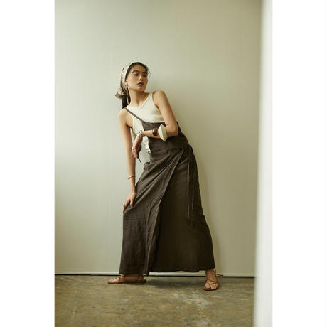 "【""little $uzie"" Original #4】One Shoulder Sarong Wrap Skirt(ls092S)"