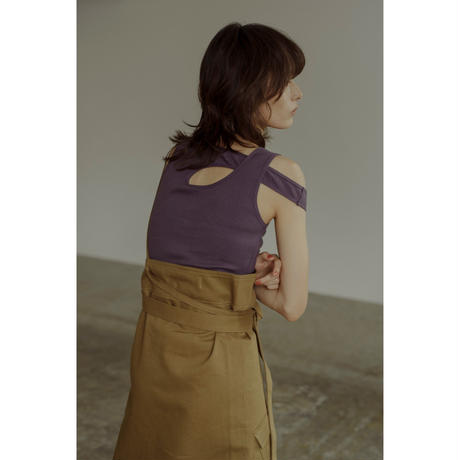 "【""little $uzie"" Original #3】One Shoulder Strap Sarong Skirt (ls060)"