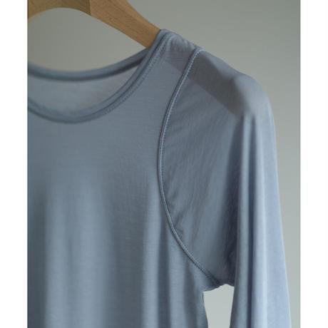 American Long Sleeves Sheer Tops(ls11211T)