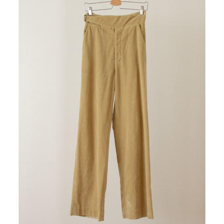 "【""little $uzie"" Original #5】Corduroy Suspenders Wide Pants(ls116P)"