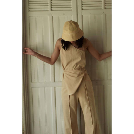 "【""little $uzie"" Original #4】Asymmetry Apron Tunic (ls100D)"