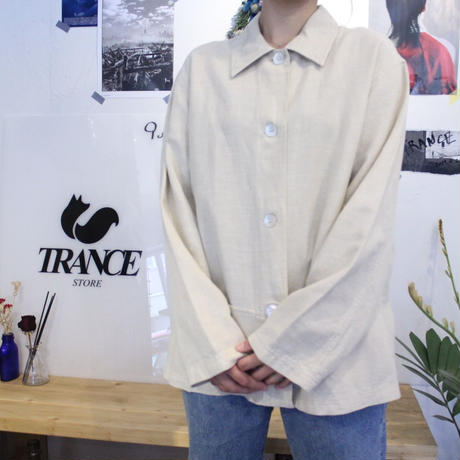 【USED】LINE LS WORK SHIRTS
