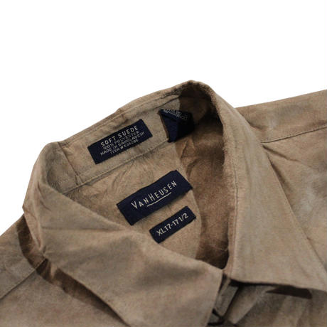 【USED】VAN HAUSEN SOFT SUEDE SHIRTS