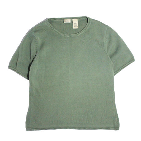 【USED】L.L.BEAN COTTON KNIT TEE