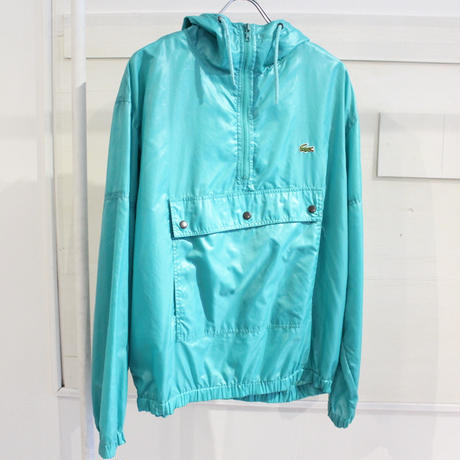 【USED】LACOSTE NYLON ANORAK JACKET