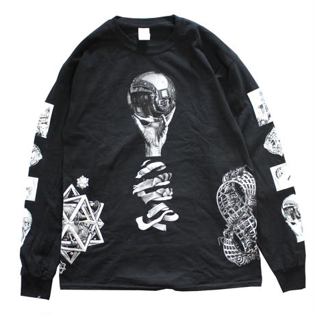 【NEW】M.C.ESCHER LONG SLEEVE T-SHIRTS