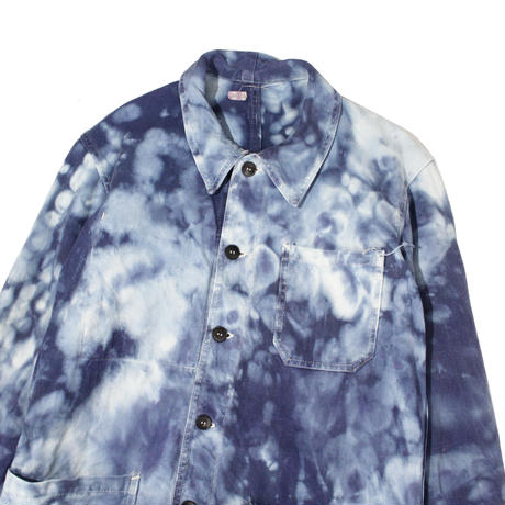 【USED】CUSTUM BLEACH COVERALL JACKET