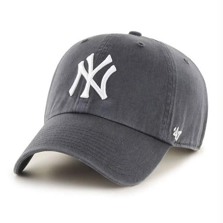 【NEW】47 Brand Yankees '47 CLEAN UP Charcoal