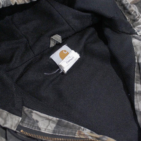 【USED】CARHARTT REAL TREE DUCK ACTIVE JACKET