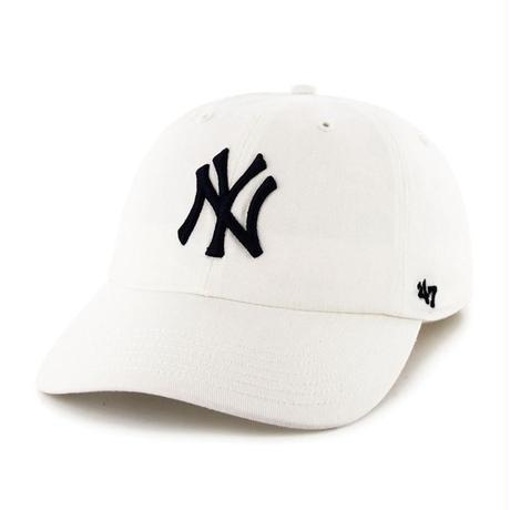 【NEW】47 Brand Yankees '47 CLEAN UP White