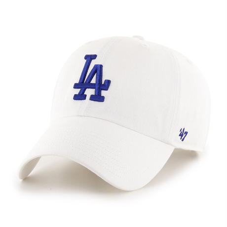【NEW】47 Brand Dodgers '47 CLEAN UP White