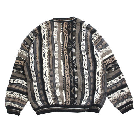 【USED】COTTON TRADERS 3D COTTON SWEATER