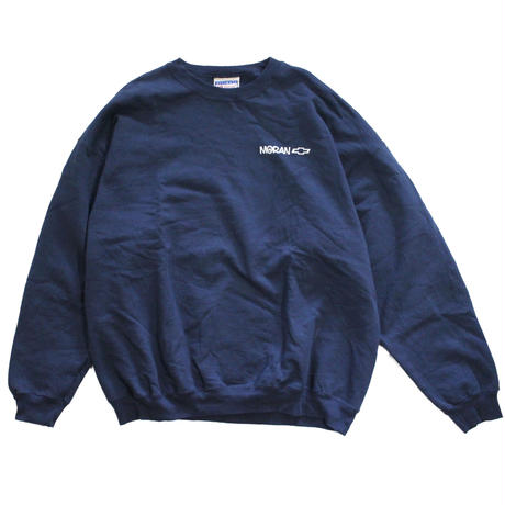 【USED】HANES CHEVROLET CREWNECK SWEAT