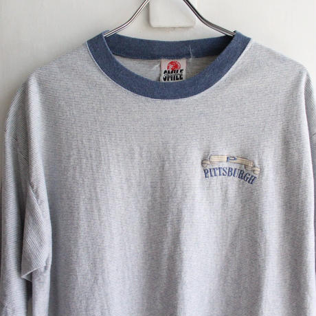 【USED】PITTSBURGH  SS BORDER TEE