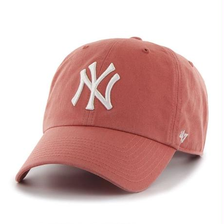 【NEW】47 Brand Yankees '47 CLEAN UP Island Red
