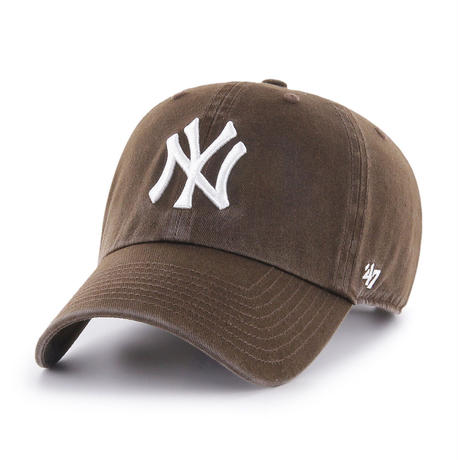 【NEW】47 Brand Yankees '47 CLEAN UP Brown