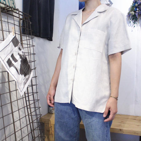 【USED】J.LONDON SS LINE SHIRTS