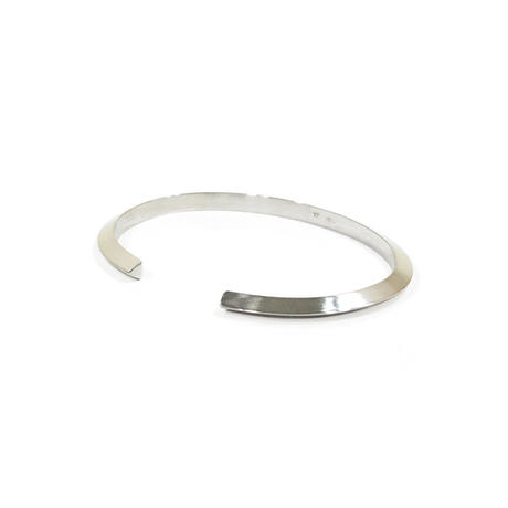 "【NEW】UNKNOWN. U223 "" SLOPE "" 4mm BANGLE"