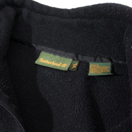 【USED】TIMBERLAND HALF ZIP FLEECE
