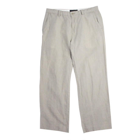 【USED】BANANA REPUBLIC LINEN SLACKS