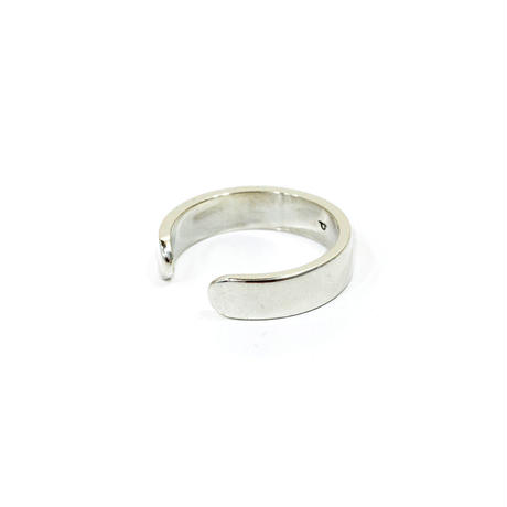 "【NEW】UNKNOWN. U006 "" FLAT "" S RING"