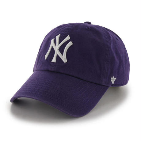 【NEW】47 Brand Yankees '47 CLEAN UP Purple
