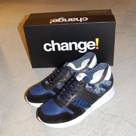 【Change!】スニーカー ブルー