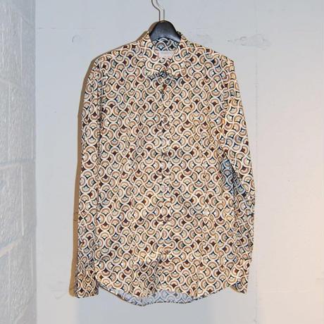 【ROBERTO P luxury】総柄プリントシャツ