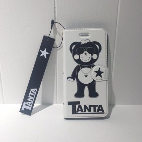 【TANTA】手帳型iPhone7ケース ホワイト