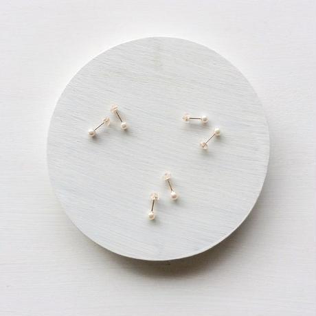 あこや真珠:baby pearl pierce【K10】