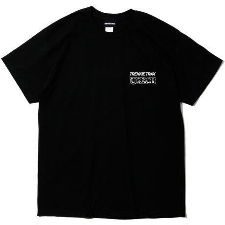 [受注予約生産] usagi × TREKKIE TRAX 3D T-Shirt Black