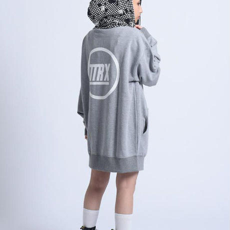 [TREKKIE TRAX × THE TEST]Night Camo Big Parka (Gray)