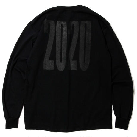 2020 LOGO Long Sleeve Black