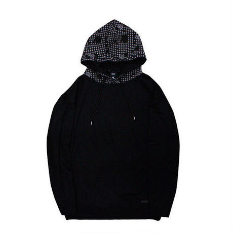 [TREKKIE TRAX × THE TEST]Night Camo Big Parka (Black)