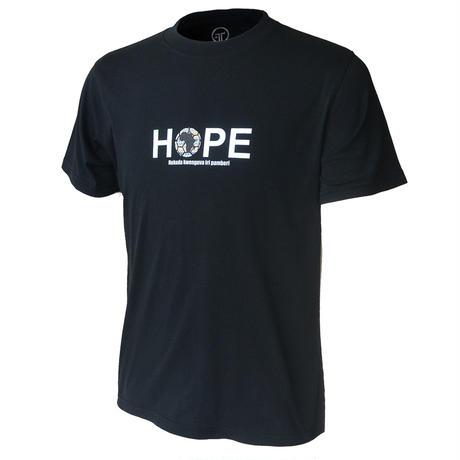HOPEチャリティウェア(コットンTシャツ/ブラック)