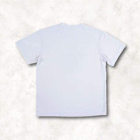 Gradation logo T-shirt(WHITE)