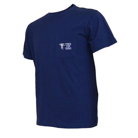 TRES TOP TEAM 2019SS コットンTシャツ(TTT/ネイビー)