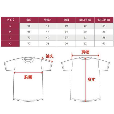 Gradation logo T-shirt(AQUA)