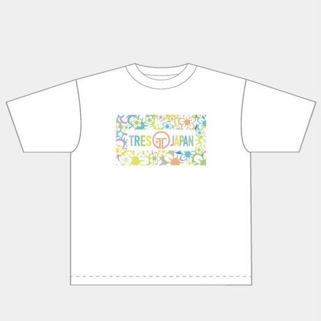 【辺野喜未来プロデュース第1弾】花柄Tシャツ ホワイト