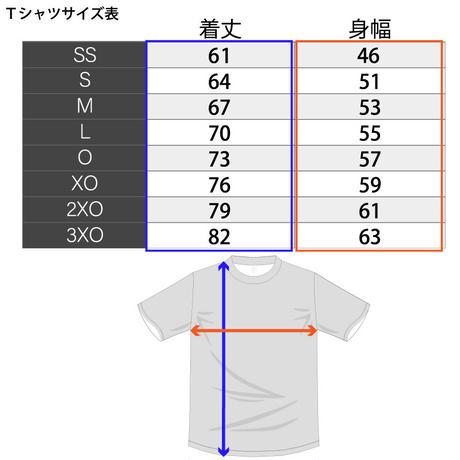 【T-recycle】Small logo T-shirt(ネイビー)