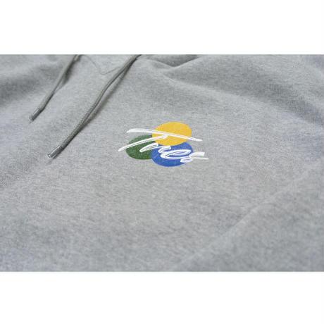 Small logo HOODIE(GRAY)