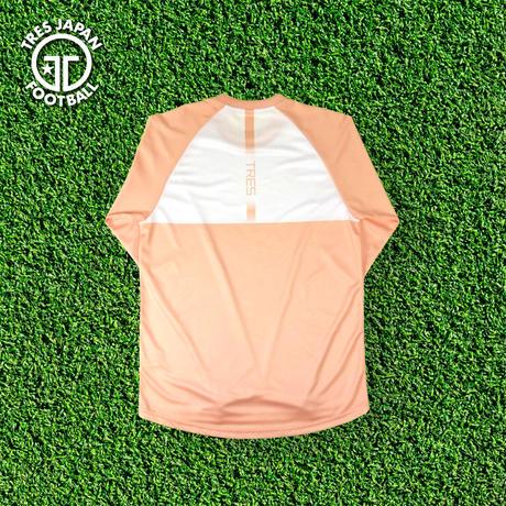 トレーニングシャツ(LS/2020AW)【ホワイト/ブラック/ピーチ/ブラウン/蛍光イエロー】